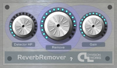 DyVision Reverb Remover     VST audio plugin from DyVision Works